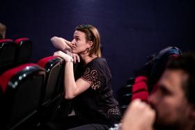 Q&A after Alla Zingara / Photo: Balázs Ivándi-Szabó