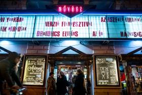 Művész Cinema during Verzió / Photo: Balázs Ivándi-Szabó