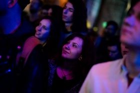 BUSH x Verzió: The Qualitons concert in Toldi / Photo: Balázs Ivándi-Szabó