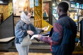 Voting after the film / Photo: Milán Rácmolnár