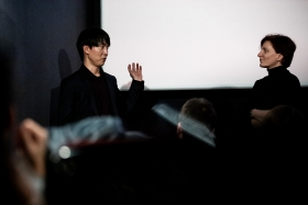 Q&A after the screening of Kim-Gun with director Sangwoo Kang / Photo: Zoltán Adrián