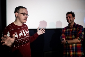 Q&A after How Big Is the Galaxy? with producer Max Tuula / Photo: Zoltán Adrián