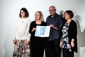 The International Jury announces the Special Mention / Photo: Zoltán Adrián