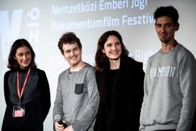The Student Jury on stage / Photo: Zoltán Adrián