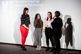 The Teen Jury on stage / Photo: Zoltán Adrián