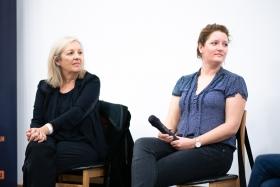 Dok-Szak-Ma: Új forgalmazási stratégiák (Christine Dollhofer, Johanna Huth) / Fotó: Rácmolnár Milán