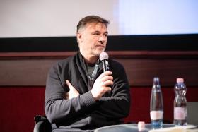 Q&A after Breathless with director Daniel Lambo / Photo: Milán Rácmolnár