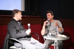 Q&A a Légszomj c. film után Daniel Lambo rendezővel / Fotó: Rácmolnár Milán