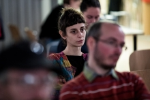 Photofilm: Sampling the Archives Conference (photo: Adrián Zoltán)