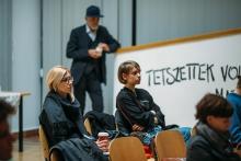 Photofilm: Sampling the Archives Conference (photo: Varga Benedek)