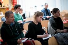 Photofilm: Sampling the Archives Conference (photo: Ivándi-Szabó Balázs)